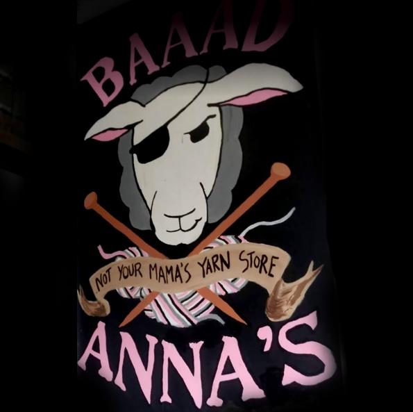 Baaad Annas Yarn Store, Vancouver, Canada