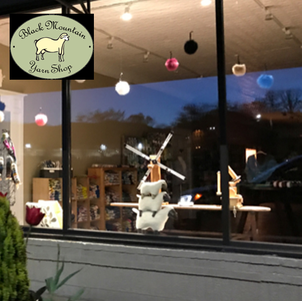 Black Mountain Yarn Shop, North Carolina, USA