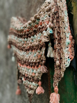 la digue shawl