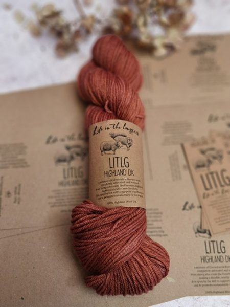 wool yarn ireland irish rural handdyed olann