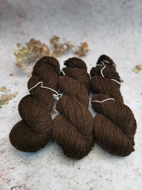 Brown Natural Litlg Yarn